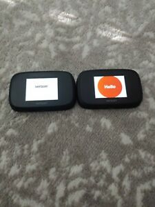(LOT OF 2) Verizon Novatel Mifi 7730L High Speed Wireless Mobile Hotspot Jetpack