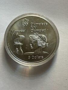 Canada  5 Dollar 1976 Silver
