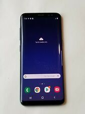 New listing Samsung Galaxy S8- 64Gb - Vzn + Gsm Unlocked - Black - High Lcd Burn # My176