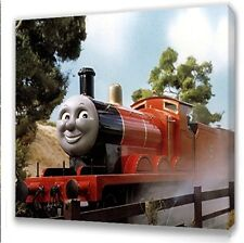 Thomas the tank engine James  Kids canvas picture