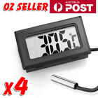 4x LCD Digital Thermometer for Fridge/Freezer/Aquarium/FISH TANK Temperature