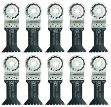 Fein Starlock Plus E-Cut Universal Oscillating Saw Blade 1-3/4 Inch 10 Pack New