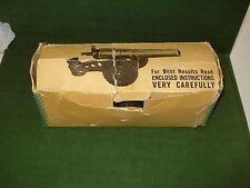 1950's BIG BANG MODEL 60 MM TOY ARTILERY GUN, w/BOX & SPARK PLUGS, CONESTOGA CO.