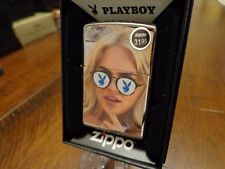 PLAYBOY BLONDE WITH SUNGLASSES BUNNY ZIPPO LIGHTER MINT IN BOX