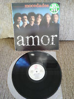 "MOCEDADES AMOR LP VINYL VINILO 12"" VG/VG 1980 ZAFIRO"