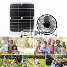Solar 15w  semi-flexi Powered Fan Ventilation High Quality Caravan Camping