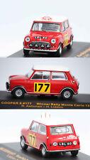 Ixo BMC Cooper S Winner Rallye Monte Carlo 1967 R. Aaltonen 1/43 RAC086