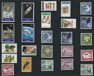 G648 Nauru / A Small Collection Early & Modern Umm Lhm & Used