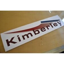COACHMAN Kimberley (STYLE 2) Caravan Name Sticker Decal Graphic - SINGLE