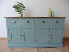 New Solid Pine 5ft Painted Sideboard/Welsh Dresser Base Unit In Any F&B Colour