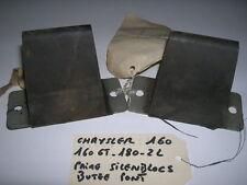 PAIRE DE SILENBLOCS DE BUTEE DE PONT CHRYSLER 160- 160 GT- 180 2L NEUF ORIGINE