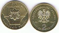 85 anni di polizia - 85 LAT policji 2004 2 ZL muenze Nordic ORO BFR,