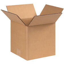 25 8x8x8 Cardboard Shipping Box for Packing - Small Cube Size