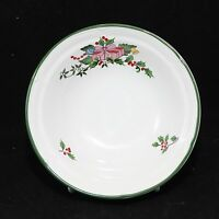 """International Tradition Xmas Soup Cereal Bowls 6-1/2"""" Lot of 9"""