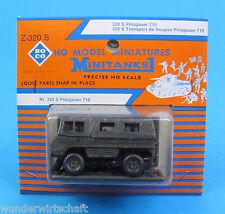 Roco Minitanks H0 Z 320 S PINZGAUER 710 Geländewagen 4x4 ÖBH HO 1:87 Blister OVP