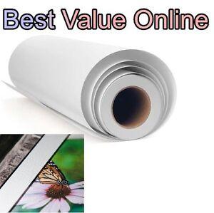 "Premium Polyester Canvas Matte For Epson canon HP 24"" x 60' Roll inkjet print nn"