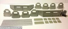 HC3D -Terra Terrain Defensive Line- Wargames Miniature Scenery 40k 28mm 15mm