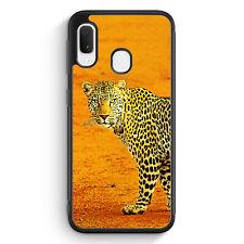 Leopard Samsung Galaxy A20e Silikon Hülle Motiv Design Tiere Schön Cover Hand...