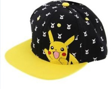 Pokémon Pikachu Snapback Flat Peak Cap accae6e78966