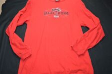 Harley Davidson Charlotte NC Red Long Sleeve 14/16 Boy's Youth Shirt