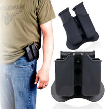 Double Stack Magazine Holder fits both 9mm and .40  Glock Magazines