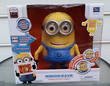 Despicable Me 2 Minion Dave talking laughing action figure