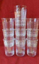 Vintage Ostalgie 10 x Kultige Trink Gläser russisch 10 граненых стаканов 250 ml