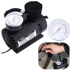 Air Compressor Portable Mini Pop Car Auto Pump Tire Inflator W/Gauge 300 PSI 12V