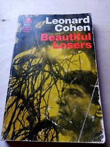 Beautiful Losers, Leonard Cohen. 1st Edition, 2nd Printing Viking, 1969. Rare.
