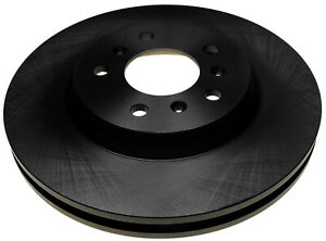 Disc Brake Rotor-Non-Coated Front ACDelco 18A2322A