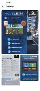 NAVMAN MOVE120M GPS - used twice