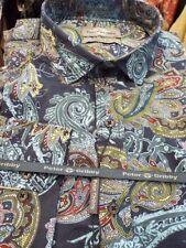 Camisas casuales de hombre multicolor 100% algodón