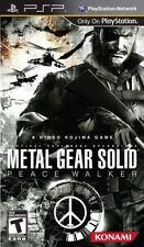 Sony PSP Metal Gear Solid Peace Walker / Game