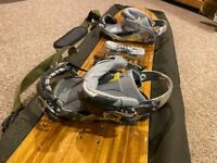 Arbor Element Classic CX Cambor 155cm Snowboard With Ride Capo Bindings And Bag