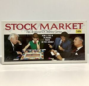 Vintage Stock Market Board Game John Sands 1981 NEW - Some Tears To Wrap
