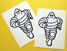 Michelin Man style Motorbike FAIRING MUDGUARD Motorcycle Decals Stickers