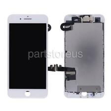White LCD Screen Touch Digitizer + Frame Front Camera For iPhone 7 Plus 5.5''