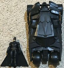 "TUMBLER 8.5"" BATMOBILE - Nolan Bale Batman The Dark Knight w/ 4"" figure loose"