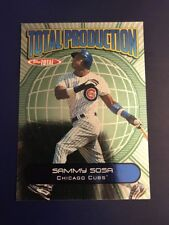 2002 Topps Total Production #TP9 SAMMY SOSA Chicago Cubs Nice Look !