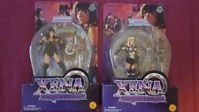 New ~ Lot of 2 ~ Xena Warrior Princess Action Figures ~ Xena & Callisto ~ Spin