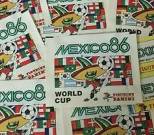 Panini Mexico 86 World Cup Soccer 1 PACKET Bustina Tüten Pochettes Pack RARE