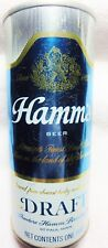 Hamm's Beer can 16 oz. USBC 152-30 EMPTY 1970 St.Paul pull top.Free Shipping.