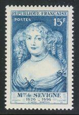 France 1950 MNH Mi 892 Sc 642 Marie de Savigne, French aristocrat **