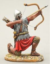 THOMAS GUNN ROMAN EMPIRE ROM025A ARCHER KNEELING FIRING UPWARDS SILVER HELMET
