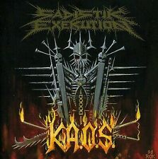 SADISTIK EXEKUTION - K.A.O.S USED - VERY GOOD CD