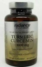 ✨  Radiance Platinum Turmeric Curcumin 1000mg 60 Capsules Exp 01/21 or later