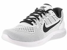 NIKE LUNARGLIDE 8 RUNNING SHOES WHITE/BLACK MENS SIZE 10 NEW AA8676-101