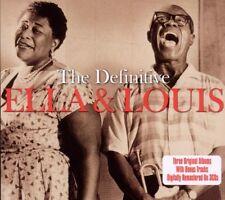 Ella Fitzgerald, Ella & Louis - Definitive [New CD] UK - Import