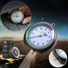 Premium Stainless Steel Tire Tyre Pressure Gauge,Tread Depth Indicator Retro 1pc