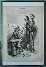 Harper's Weekly Newspaper March16 1878 Bill to Disband Army